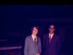 Fahim sanis graduation 1973... Who is he with? Help identify